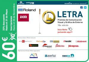 Premios LETRA promoción neobis