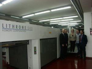 Grupo Forletter se une al cambio tecnológico offset H-UV Komori