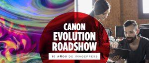 evolution roadshow canon imagepress