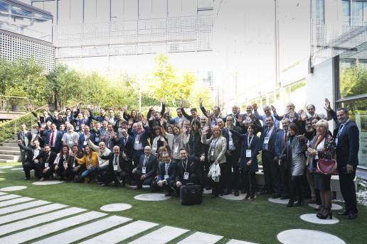 Grupo de participantes Foro Jóvenes Impresores