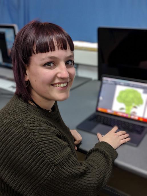Paula Baumann ganadora de la segunda edición del concurso neobispress