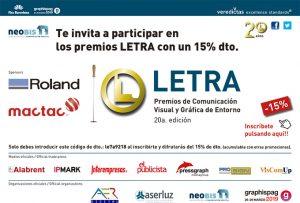 Premios Letra 20 edición
