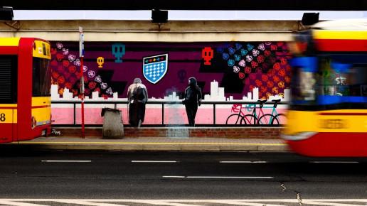 El ePaper paradas de autobús inteligentes