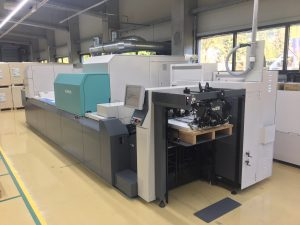 Ebro Colors newly installed Jet Press 720S