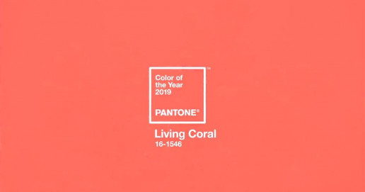 living coral color pantone 2019
