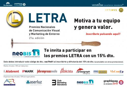 Premios Letra 2019